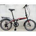 20inch Machine Disc 7 Speed Foldable Bike
