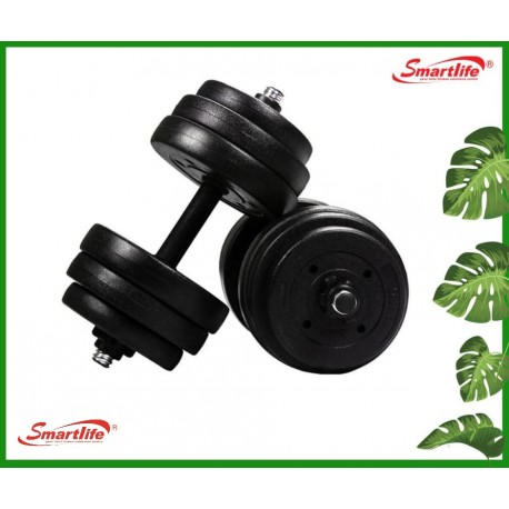 ECO RUBBER 10kg SET DUMBELL